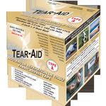 Tear aid r parer instantan ment les vinyles tissus for Liner piscine transparent